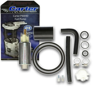 Carter P90040 Fuel Pump Electric Inline Pressure Transfer Gas Diesel Fm