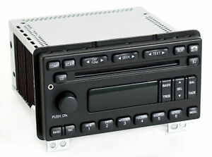 2005 Ford Explorer Mountaineer Radio Am Fm Cd Player W Aux Input 5l2t 18c869 ac