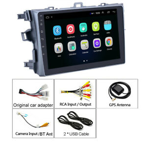 9 Android 9 1 Car Stereo Radio 2din Hd Navi Gps For Toyota Corolla 2006 2012