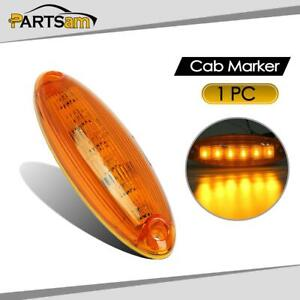 6 Led Amber Cab Marker Roof Top Clearance Light Lamp For Freightliner Cascadia