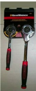 Gearwrench 2 Pc 1 4 3 8 Drive 72 Tooth Dual Roto Ratchet Set 81223