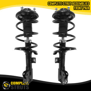 2008 2011 Mitsubishi Lancer Front Pair Complete Struts Coil Spring Assemblies