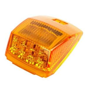 Amber yellow 17 Led Cab Marker Roof Running Top Light Assembly