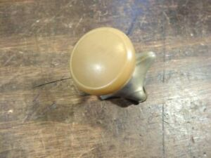 Vintage Beige Cream Steering Wheel Suicide Spinner Knob Hot Rat Rod S819