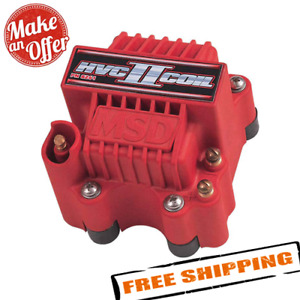 Msd Ignition 8261 Hvc 2 Red Ignition Coil