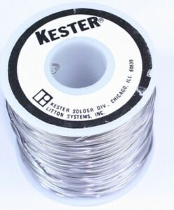 Kester Qqs571e Solder 44 Rosin Core Sn63pb37 Tin And Lead 015 In 1 Lb Roll