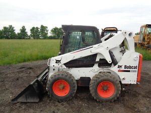 2011 Bobcat S650 Skid Steer Cab heat Acs Controls Power Bobtach 2 462 Hours