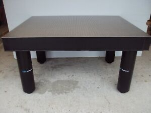 Crated Newport Research Grade Optical Table W Leg Set Breadboard Isolation