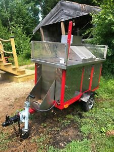 Classic Towable Hot Dog Cart Used