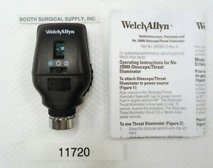 Welch Allyn 11720 3 5v Coaxial Ophthalmoscope Very Good excellent Used