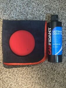 Car Paint Wax Detailing Kit Sealant Protection Clean Polish Shine Durable Care