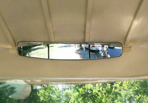 16 7 Extra Wide Rear View Mirror W Bracket For Ezgo Club For Yamaha Cart