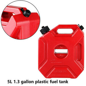 5l Plastic Jerry Can Gas Diesel Petrol Fuel Tank Oil Container Fuel jugs Durable