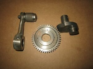 South Bend 9 10k A B Lathe Apron Cross Feed Select Lever Shifter And Gear As84nk