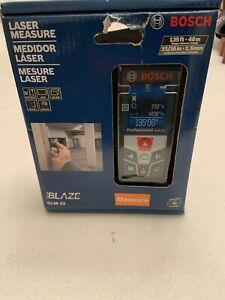 New Bosch Laser Measure Blaze Glm 42 Full Color Display