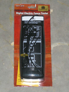 Digital Electric Fence Tester Deft afw New Free S h