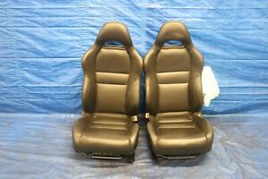 2005 06 Acura Rsx Type s K20z1 2 0l Oem Leather Lh Rh Front Seats damage 4443