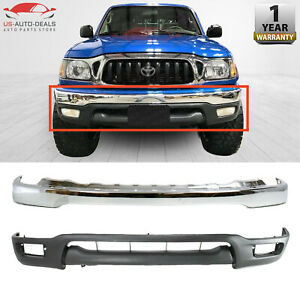 Front Bumper Chrome Lower Valance Primed For 2001 2004 Toyota Tacoma