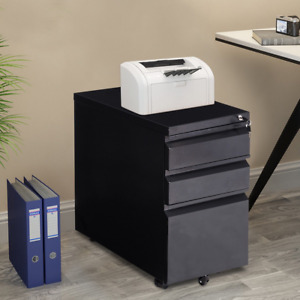 Steel Rolling Storage A4 Drawers File Cabinet