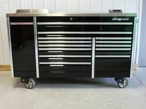 Snap On Black 76 Epiq Tool Box Toolbox Stainless Steel Power House Power Top