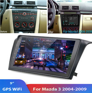 For 2004 09 Mazda 3 Car Radio Stereo Android 9 1 Hd 9 Navi Gps 2 32gb Canbus