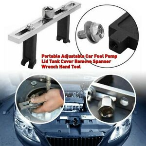 Adjustable Car Fuel Pump Wrench Portable Car Lid Tank Cover Remove Spanner Us