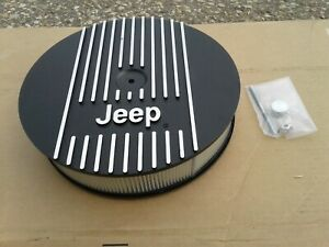 Nos Mopar Performance Jeep Cast Aluminum 13 Air Cleaner Assembly 5 2 5 9 Magnum
