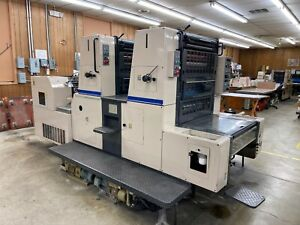 Shinohara 66 iip Two color Offset Printing Press 1992