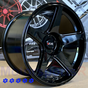 Xxr 575 Wheels 18 X9 5 10 5 25 Black Staggered 5x4 5 99 04 Ford Mustang Cobra