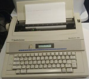 Smith Corona Word Smith 200 Typewriter