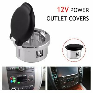 Dash Power Outlet Cover Accessories For 07 13 Chevrolet Silverado Suburban Tahoe
