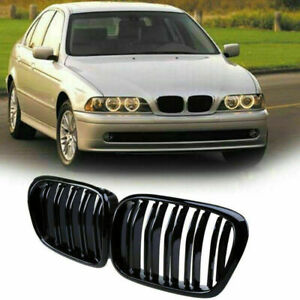 Fit For Bmw 5 Series E39 M5 98 03 Double Line Front Kidney Grille 51137005837