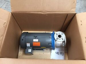 Goulds Water Technology G l Series Ssh Pump With Baldor 15 Hp Motor 7sh2m52a0
