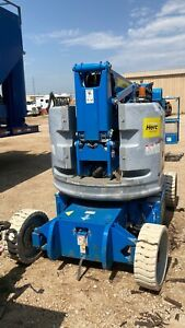 2012 Genie Z34 22n Manlift 34 Articulating Boom Lift Electric Hrs 320