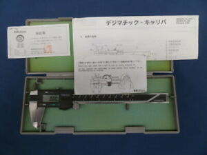 Mitutoyo Caliper 500 136 Cd 6 Bs Made In Japan