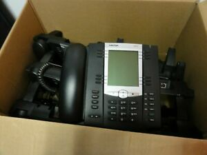 7 Aastra 6757i Voip Digital Telephone Network Voice Phones With Power Adapters