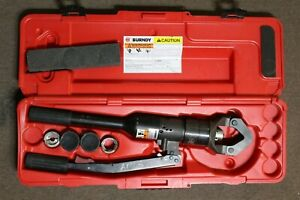Burndy Y644hsxt 12 ton Hydraulic Manual Crimping Tool Dies