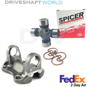 Spicer Rear Driveshaft Flange Yoke With U Joint For 2005 2015 Toyota Tacoma