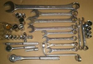 Thorsen Tool Lot Ratchets Extension Breaker Bar Socket Combination Wrenches Usa