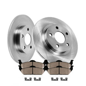 For Lexus Rx350 Toyota Highlander Sienna Rear Brake Rotors And Ceramic Pads