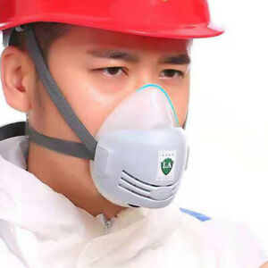Reusable Breathable Protection Emergency Gas Mask Respirator Filter Chemical Cha