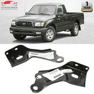 Front Bumper Bracket For 2001 2004 Toyota Tacoma Set Of 2 Left Right Side