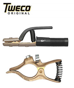 Combo Genuine Tweco Gc 200 Ground Clamp A 532 Electrode Holder