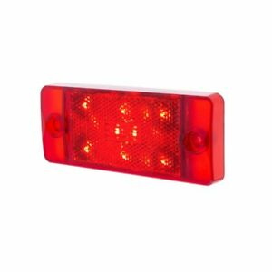 Rear Led Side Marker Red Compatible With 1970 77 Ford Bronco