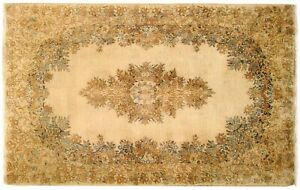 Vintage Traditional Oriental Rug In Small Size With Free Shipping