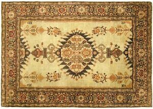 Antique Traditional Decorative Oriental Rug In Small Size With Free Shipping