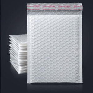 25 2000 Poly Bubble Mailers Padded Envelopes Bag Self Sealing All Size