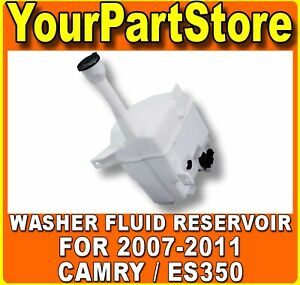 Windshield Washer Tank Bottle Container Fluid Reservoir New For Camry Es350