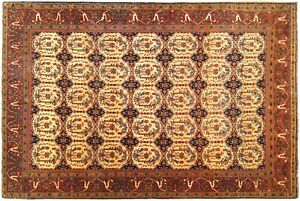 Antique Decorative Oriental Carpet In Small Size With Free Shipping
