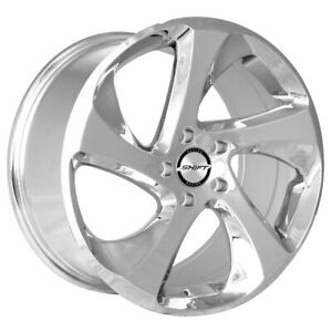 4 shift Strut 17x8 5x4 5 35mm Chrome Wheels Rims 17 Inch